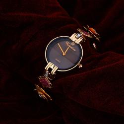 Rose Gold Ladies Watch-RLW51