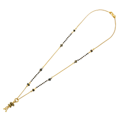 The fancy chain mangalsutra