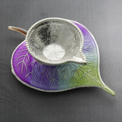 The Peepal Flower With a Base Diya