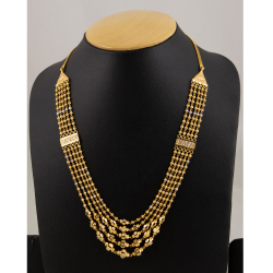 916 Gold Fancy Vertical Mala ML-C05