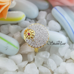 Ladies Ring by Shubh Gold