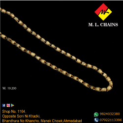 22K Gold Indo Italian Chain ML-C19