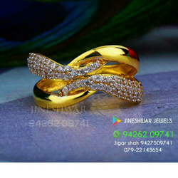 Special Occation Were Cz Ladies Ring LRG -0224