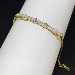 916 Gold Hallmark Stylish Bracelelt