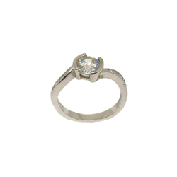 925 Sterling Silver Designer Ring MGA - LRS3465