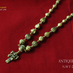 22ct(916) Antique mala