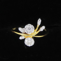 Stylish Diamond Ring For Women KJ-R15