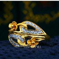 Gold Designer fancy Ladies Ring LRG -0240