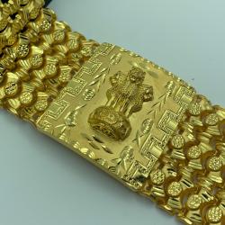 gold gents bracelate by