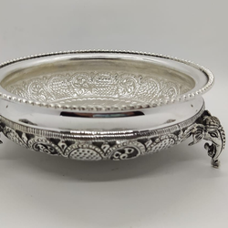 Silver decorative bowl jys0028
