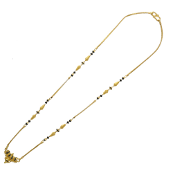 The lovely mangalsutra with pendant