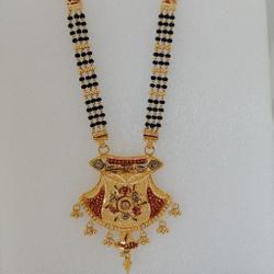 Gold mangalsutra long by Vinayak Gold