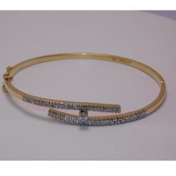 18K gold diamond bracelet  agj-br-67