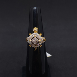 Tortoise Gents Ring Diamond GRG-0224