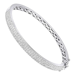 Diamond modern bracelet for women