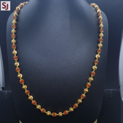 Rudraksh Mala RMG-0037 Gross Weight-30.120 Net Weight-27.150
