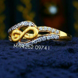 22kt Fancy Cz Ladies Ring LRG -0217