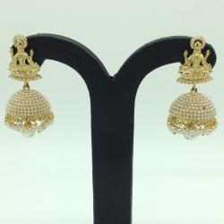 Pearls Laxmi Ear JhumkiJER0045