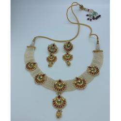 Designer Kundan Bridal Necklace Set
