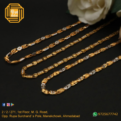 916 Gold Indo Italian Chain For Men JC-C002