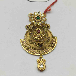 22ct antique ms pendant