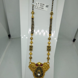 916 antique mangalsutra ams475