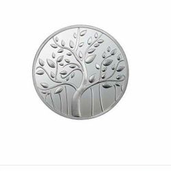 Mmtc 999 Pure Silver Banyan Tree Coin 10gm