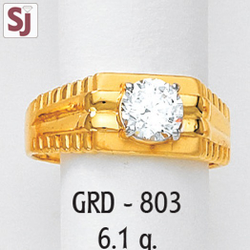 Gents Ring Diamond GRD-803
