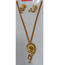 Casting Pendant Chain Set by