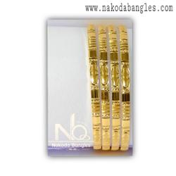 916 Gold CNC Bangles NB - 1388
