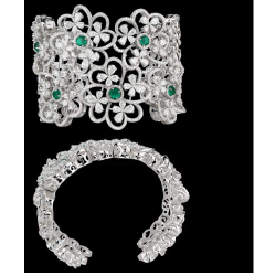 Diamondsand EmeraldsBraceletJSJ0067