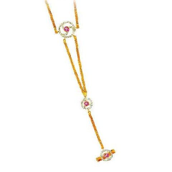916 Gold Ladies fancy Designing Bracelet