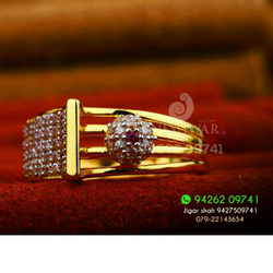 Exclusive Cz Fancy Ladies Ring LRG -0197