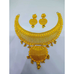 22kt gold stylish set bj-n020