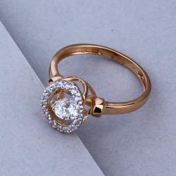 18KT Rose Gold Hallmark Elegant Design Ring
