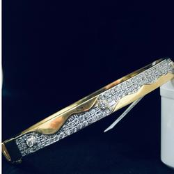916 Gold Hallmark Trendy Bracelet