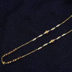 Ladies 916 Gold Moti Chainmala-AC45