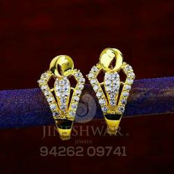 Gold Shiner Cz Bali Abg - 0075