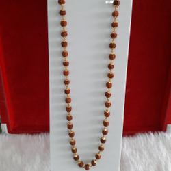 Gold rudrax mala & lucky by