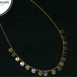 Fancy plain casting tanmaniya 18kt
