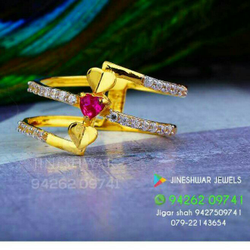 Stunning Cz Fancy Ladies Ring LRG -0210