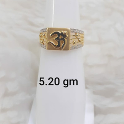 Gents Ring cz by