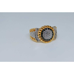 22k Gents Fancy Gold Ring Gr-28649
