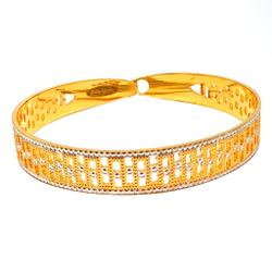 1 Gram Gold Forming CNC Bracelet MGA - BRE0086