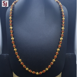 Rudraksh Mala RMG-0035 Gross Weight-28.550 Net Weight-24.120