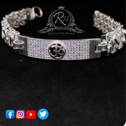 silver om daimond gents lucky RH-ly580