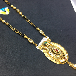 916 gold antique Mangalsutra
