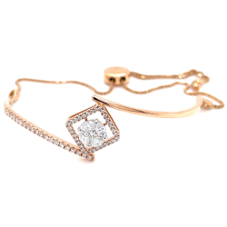 Ziemlich adjustable Diamond Bracelet for your loved Ones