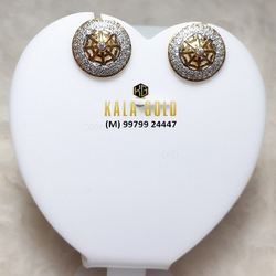916 Gol Butti (Round Earrings)