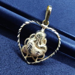 18 ct gold pendant